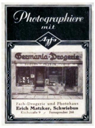 Photographiere mit Agfa