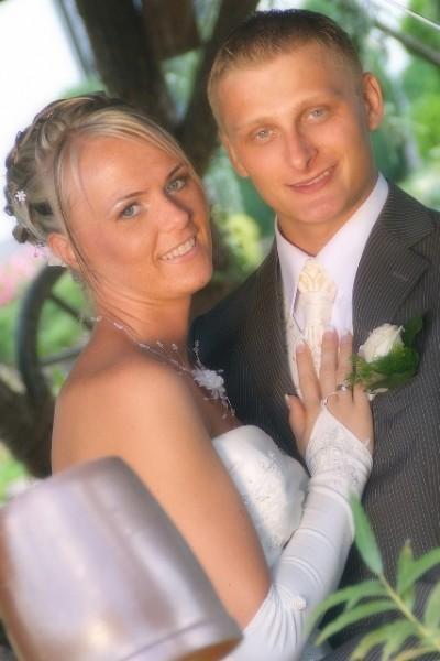 fotografia ślubna - młoda para
