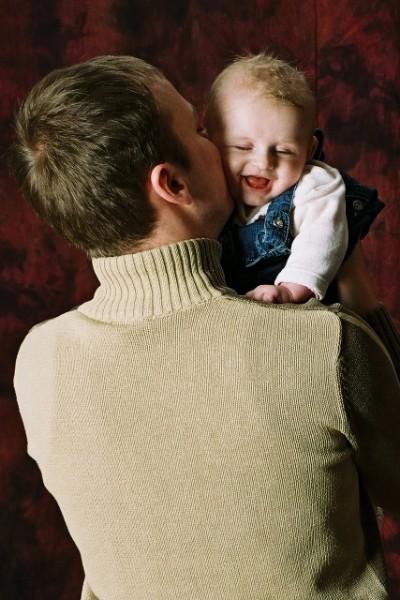 fotografia rodzinna - tata z dzieckiem